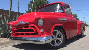 Classic Chevy Custom Trucks - 1957 chevy 3100 classic big window custom pickup truck youtube