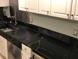 Still Working On The Kitchen Artistic Soapstone Incorporated - Kitchen sink splash guard