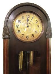 hand carved german grandfather clock at 1stdibs