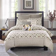neutral colored bedding shop ink ivy ankara neutral coverlet collection the home
