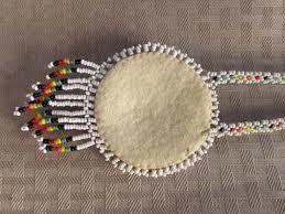 beaded medallion necklace images Lot detail vintage authentic navajo hand beaded medallion necklace jpeg