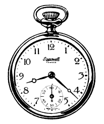 watch clock clipart clipartxtras