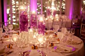 Traditional Marriage Decorations Purple Wedding Reception Decor Party Themes Inspiration