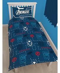 Avengers Duvet Cover Single Marvel Avengers Tech Single Duvet Cover And Pillowcase Set