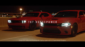 hellcat challenger 2017 engine dodge celebrates its freedom with u0027predators u0027 tv spot featuring