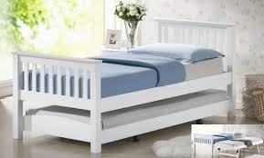 Trundle Beds For Sale Pop Up Trundle Bed Frame Twin Size Cherry Finish Wood Metal Day