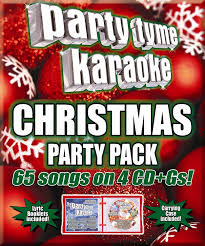 party tyme karaoke party tyme karaoke christmas party pack 65