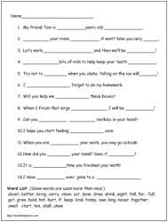reading lessons for 3rd grade third grade reading worksheets worksheets