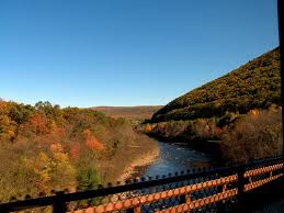 view from scenic train ride in jim thorpe pa fall 2008 flickr