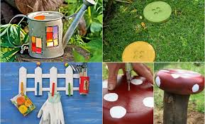 Garden Decorating Ideas Diy Garden Decor Ideas 6 Projects For Yard And Patio