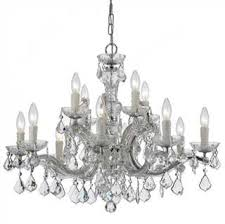 Maria Theresa 6 Light Crystal Chandelier Crystorama Maria Theresa