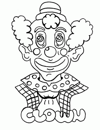 coloring page of a sad face many interesting cliparts