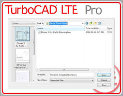 turbocad drawing template turbocad lte 4 and lte 4 pro review caddigest