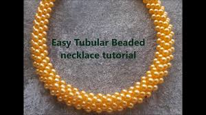 beads necklace tutorial images Easy tubular beaded necklace or bracelet tutorial jpg
