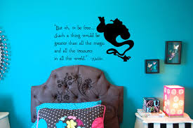 but oh be free aladdin vinyl decal wall vinyl wall