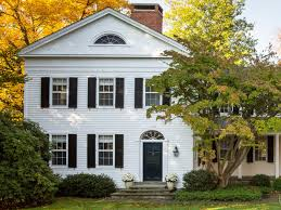 ideas about white colonial house free home designs photos ideas