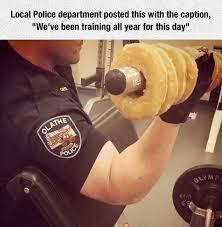 Funny Donut Meme - national donut day donuts meme national doughnut day police
