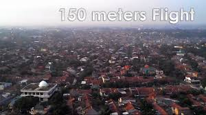 how high is 150 meters syma x5c flying above 150 meters and crash youtube