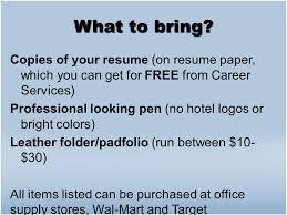 Resume Paper Target Navigating The Armstrong Career Fair The Purpose Of A Career Fair