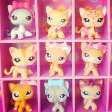 Lps Halloween Costumes Littlest Pet Shop Rare Short Hair Cat Ranch 339 Glitter Moon