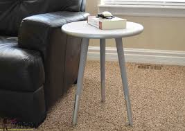 easy mid century modern side table her tool belt