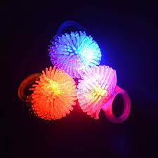 led light up rings 2018 colorful led flashing finger rings blinking party soft light up