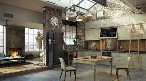 deco de cuisine 30 exemples de décoration de cuisines au style industriel