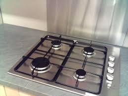 plan de travail cuisine inox sur mesure crédence inox brossé pour la cuisine plan de travail inox sur mesure