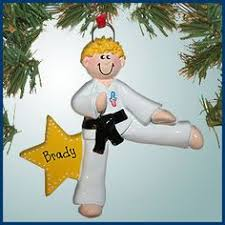 male graduate blonde hair christmas ornament blondes and hair
