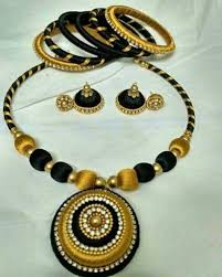 necklace sets images Silk thread necklace sets ad design thane id 15398647333 jpg