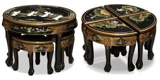 coffee tables and stool sets that guests are always grateful for