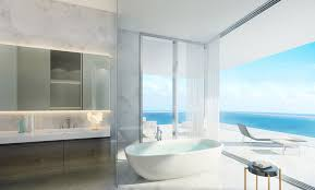 penthouse at l u0027atelier residences miami beach bathroom most