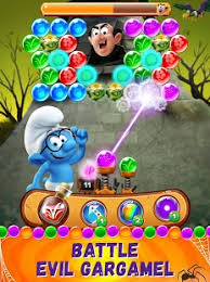 smurfs bubble story android apps google play