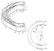 curved escalator patent 0103489