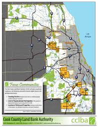 Chicago Community Map by Cook County Land Bank Authority U2013 Data U0026 Analytics