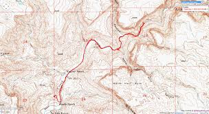 In And Out Map General Information Aravaipa Canyon West Hike
