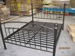 iceland wrought iron double bed frame bed frames ideas