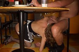 Blow Job Under Table Showing Images For Under Table Public Restaurant