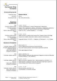 download curriculum vitae europeo pdf da compilare curriculum curriculum vitae scaricare il file word del curriculum vitae