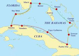 Cuban Map The Cuba Bahamas Sailing Loop Sail Magazine