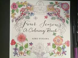seasons coloring book aiko fukawa colour