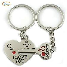 cute key rings images Sosuo love key to my heart cute couple keychain love jpg
