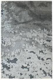 Modern Grey Rug Coastal Zone Modern Patinated Look Rug J32547