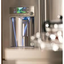 ge glass door refrigerator cye22tshss ge cafe 36