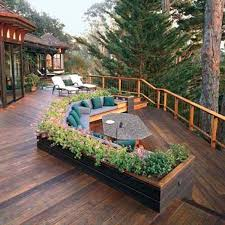 Wonderful Deck Designs To Make Your Home Extremely Awesome - Backyard decking designs