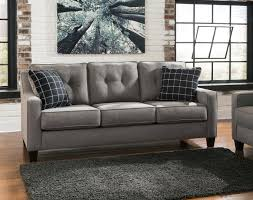 Benchcraft Furniture Benchcraft 5390138 Brindon Series Stationary Microfiber Sofa