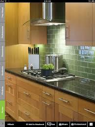 kitchen backsplash green green kitchen tile backsplash emerald glass subway with