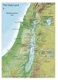 Gennesaret Map Fr Robert Schaller