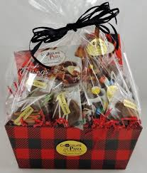gift baskets for men lumberjack gift basket for men gourmet chocolate in plaid