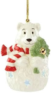 lenox polar lit ornament home kitchen